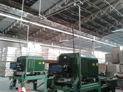 Instalación de maquinaria