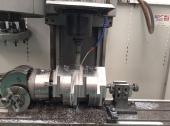 Centro de maquinado vertical CNC.